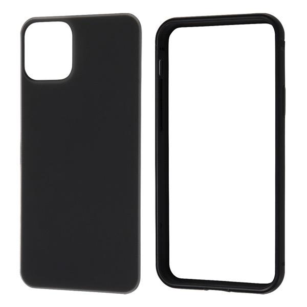 Ray Out iPhone 11 Pro アルミバンパー+背面パネル(マットブラック) マットブラック