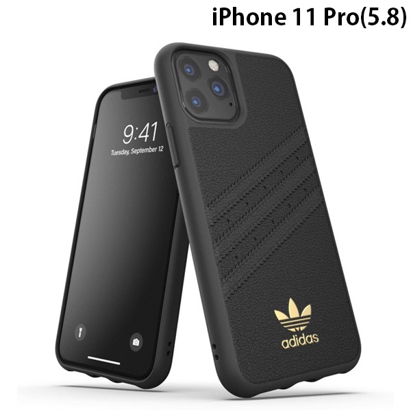adidas iPhone 11 Pro OR Moulded Case SAMBA Premium FW19 Black