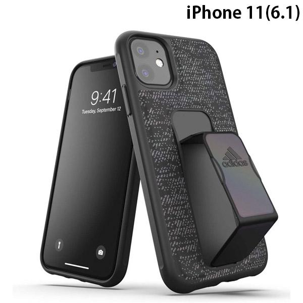 adidas iPhone 11 SP Grip case iridescent FW19 sept 19 Black