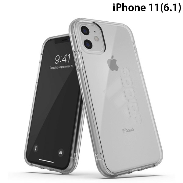 adidas iPhone 11 SP Protective Clear Case FW19 sept 19 Clear big logo
