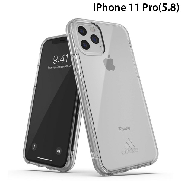 adidas iPhone 11 Pro SP Protective Clear Case FW19 sept 19 Clear small logo