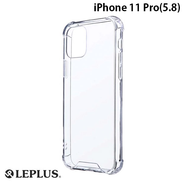 LEPLUS iPhone 11 Pro 耐傷・耐衝撃ハイブリッドケース CLEAR TOUGH クリア