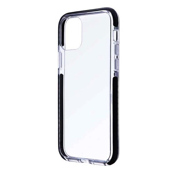 LEPLUS iPhone 11 Pro 耐衝撃3種ハイブリッドケース CLEAR STRONG TOUGH ブラック