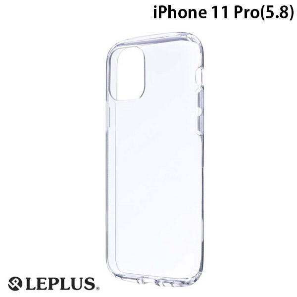 LEPLUS iPhone 11 Pro 耐衝撃ソフトケース CLEAR ROUND クリア