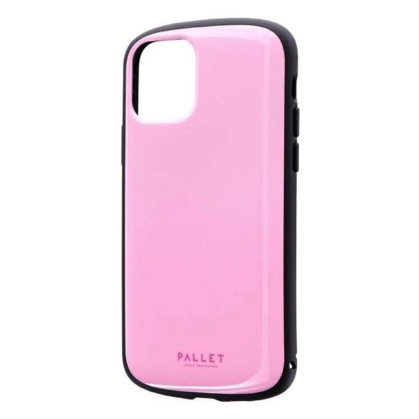 LEPLUS iPhone 11 Pro 超軽量・極薄・耐衝撃ハイブリッドケース PALLET AIR ピンク