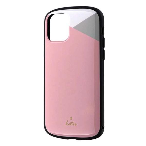 LEPLUS iPhone 11 Pro 超軽量・極薄・耐衝撃ハイブリッドケース PALLET Katie パステルピンク