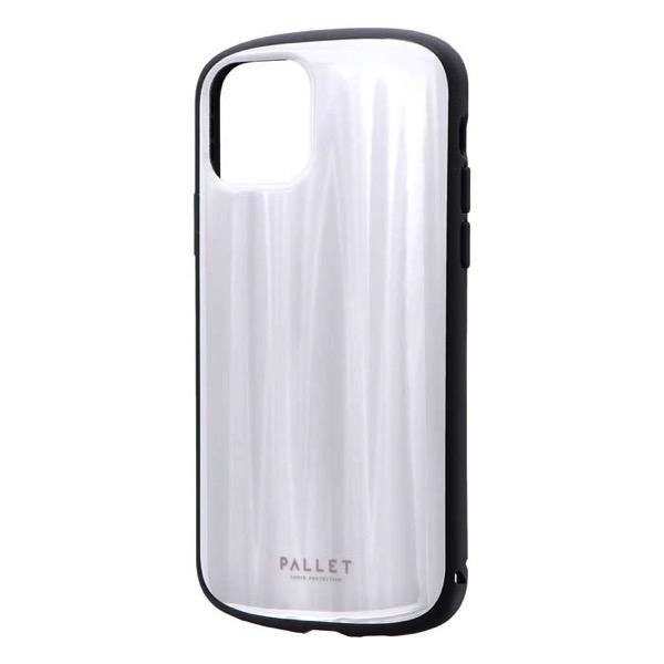 LEPLUS iPhone 11 Pro 超軽量・極薄・耐衝撃ハイブリッドケース PALLET METAL ホワイト