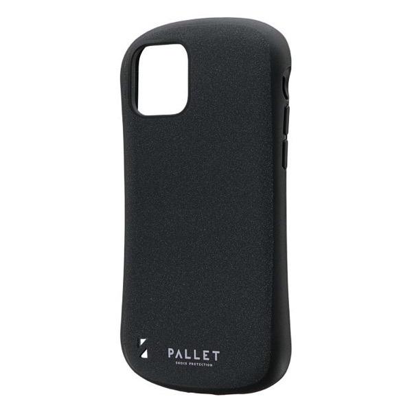LEPLUS iPhone 11 Pro 超軽量・極薄・耐衝撃ハイブリッドケース PALLET STEEL ダークグレー