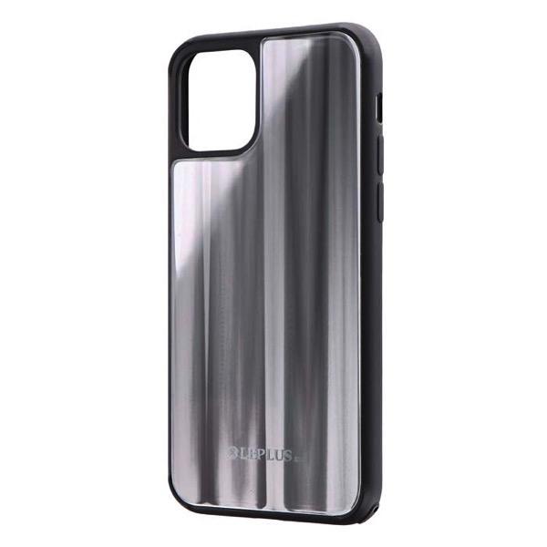 LEPLUS iPhone 11 Pro 背面ガラスシェルケース SHELL GLASS シルバー
