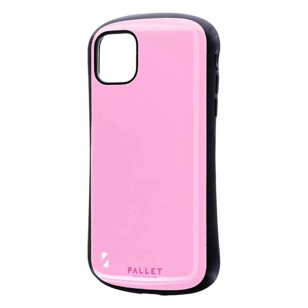 LEPLUS iPhone 11 耐衝撃ハイブリッドケース PALLET ピンク