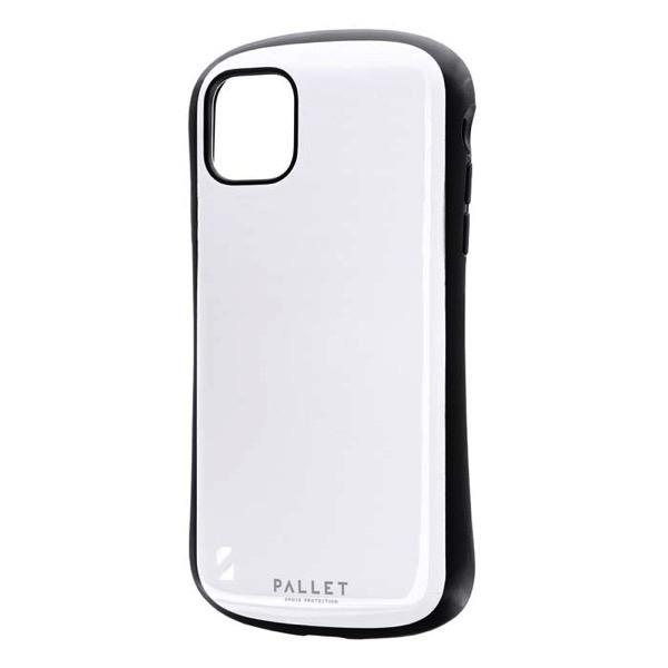 LEPLUS iPhone 11 耐衝撃ハイブリッドケース PALLET ホワイト