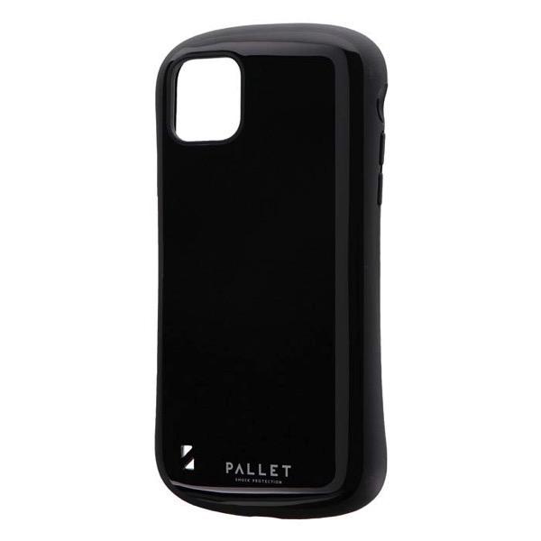 LEPLUS iPhone 11 Pro Max 耐衝撃ハイブリッドケース PALLET ブラック