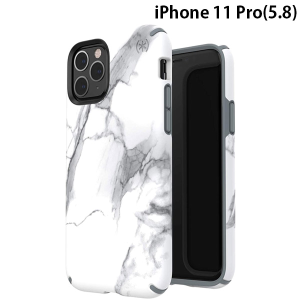Speck Products iPhone 11 Pro PRESIDIO INKED CARRARAMARBLE MATTE/GREY