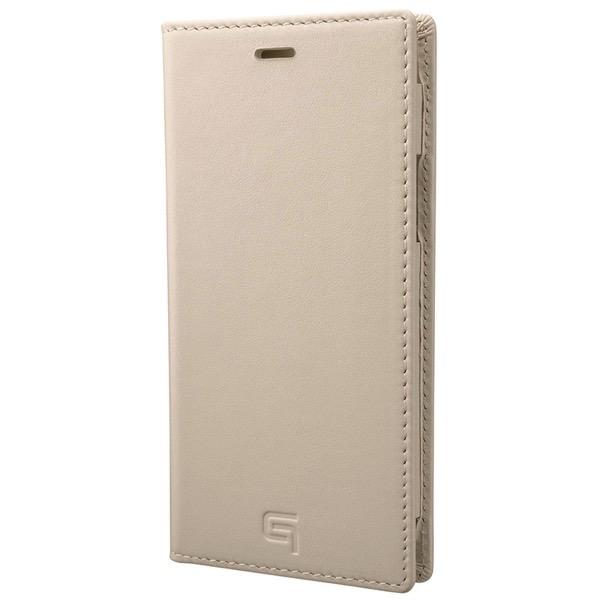GRAMAS iPhone 11 Pro Genuine Leather Book Case アイボリー
