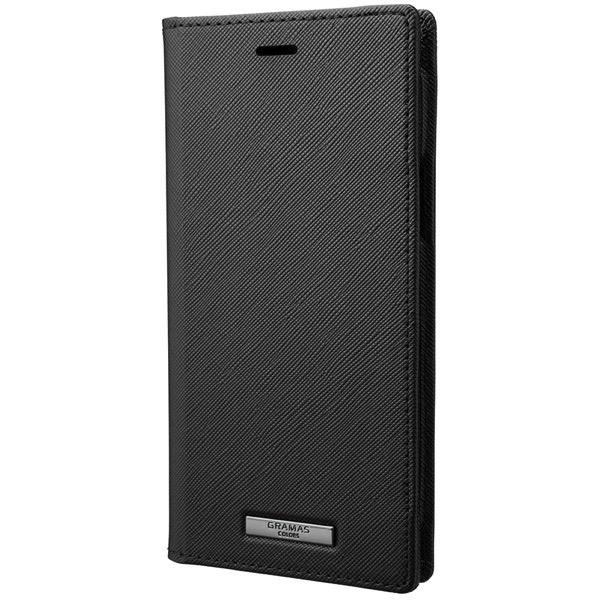 GRAMAS iPhone 11 Pro EURO Passione PU Leather Book Case ブラック