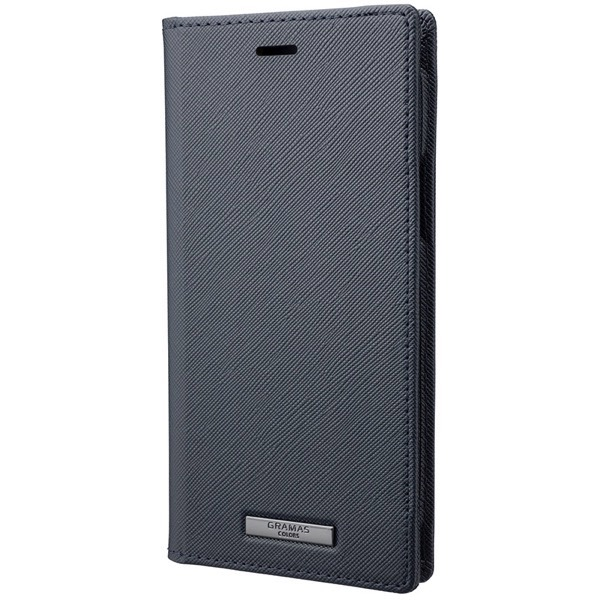 GRAMAS iPhone 11 Pro EURO Passione PU Leather Book Case ネイビー