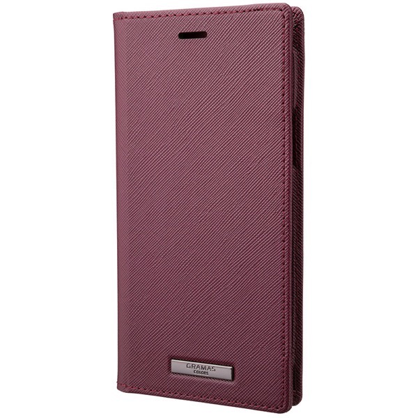 GRAMAS iPhone 11 Pro EURO Passione PU Leather Book Case ワイン