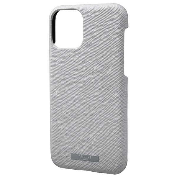 GRAMAS iPhone 11 Pro EURO Passione PU Leather Shell Case グレー