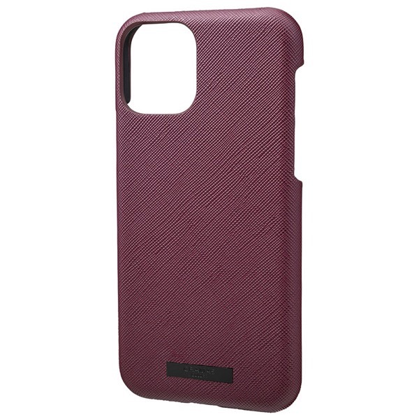 GRAMAS iPhone 11 Pro EURO Passione PU Leather Shell Case ワイン
