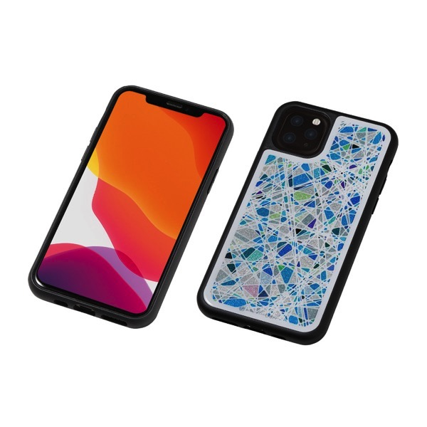 Deff iPhone 11 Pro Hybrid Case Etanze ジュエルブルー