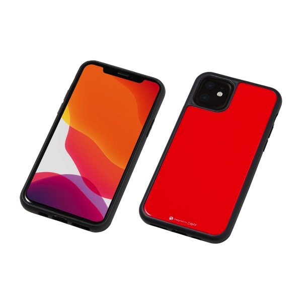 Deff iPhone 11 Hybrid Case Etanze レッド