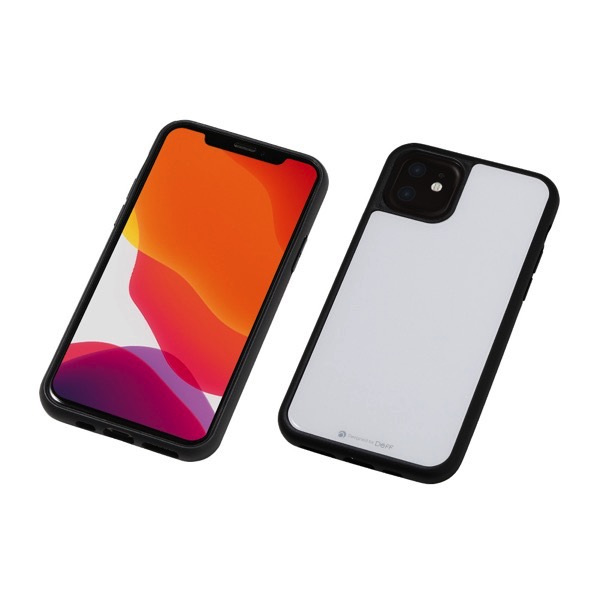 Deff iPhone 11 Hybrid Case Etanze ホワイト