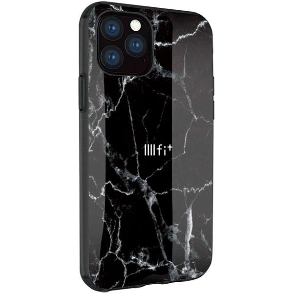 gourmandise iPhone 11 Pro ケース IIIIfi+ (イーフィット) PREMIUMSERIES ブラックマーブル