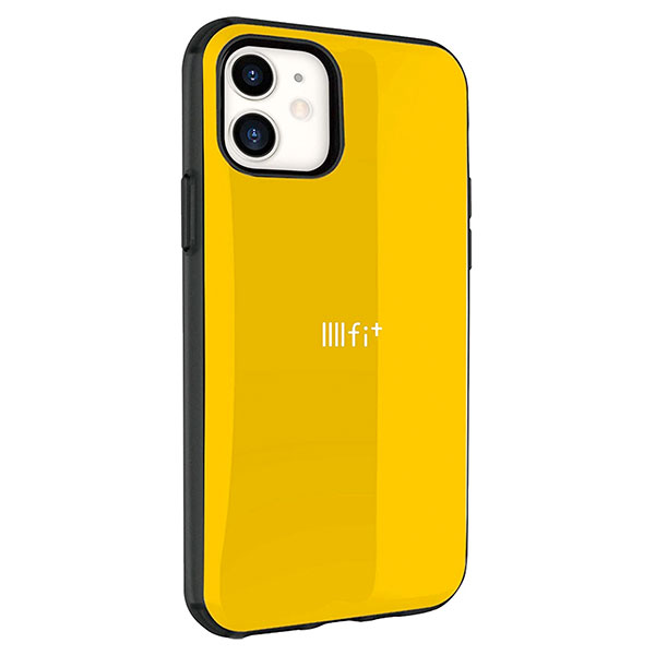 gourmandise iPhone 11 / XR ケース IIIIfi+ (イーフィット) イエロー