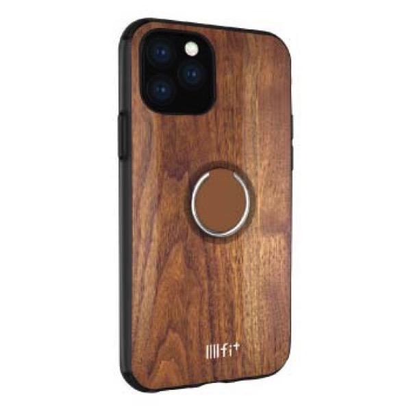 gourmandise iPhone 11 Pro ケース IIIIfi+ (イーフィット) RING ウォールナット