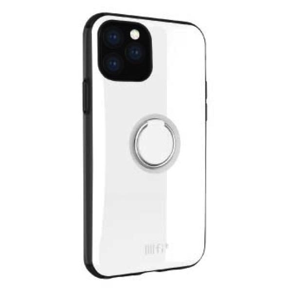 gourmandise iPhone 11 Pro Max ケース IIIIfi+ (イーフィット) RING ホワイト