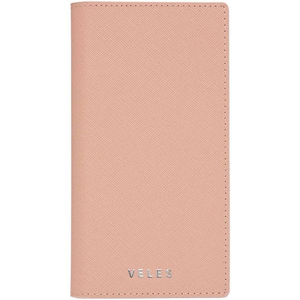 gourmandise iPhone 11 Pro Max フリップカバー VELES サフィアーノ ピンク