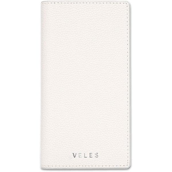 gourmandise iPhone 11 Pro フリップカバー VELES シュリンク ホワイト