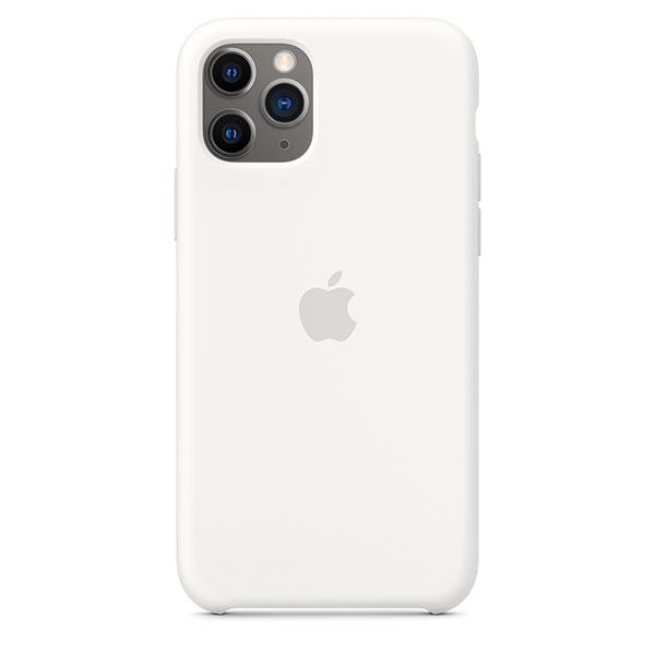 Apple iPhone 11 Pro シリコーンケース - ホワイト