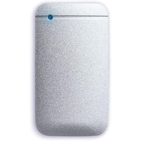エレコム ESD-EF 250GB ポータブルSSD USB3.2(Gen1) 対応 USB Type-C & Type-Aケーブル付属 シルバー