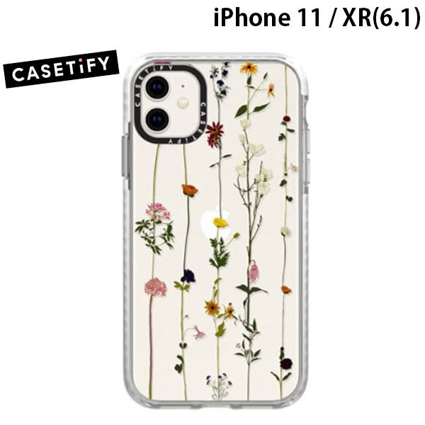 Casetify iPhone 11 / XR grip case Floral