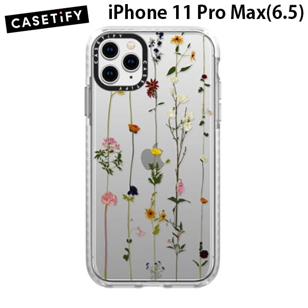 Casetify iPhone 11 Pro Max grip case Floral