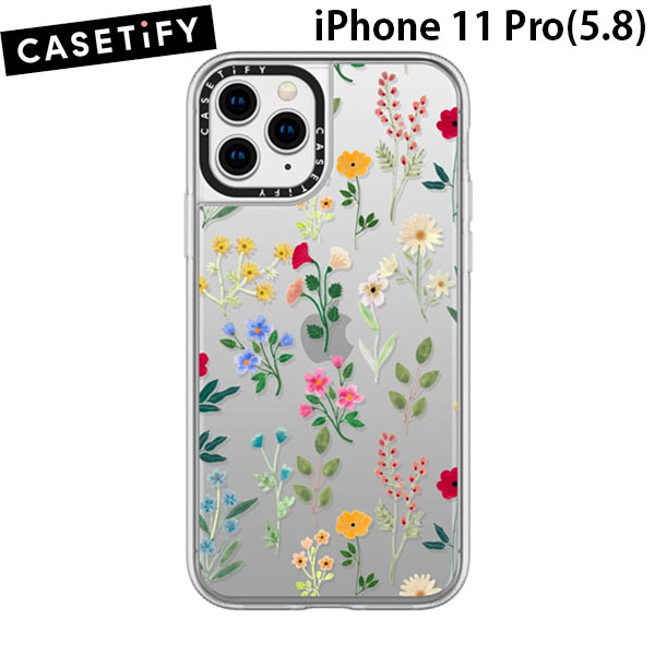 Casetify iPhone 11 Pro grip case Spring Botanicals2
