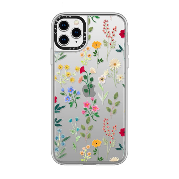 Casetify iPhone 11 Pro Max grip case Spring Botanicals2