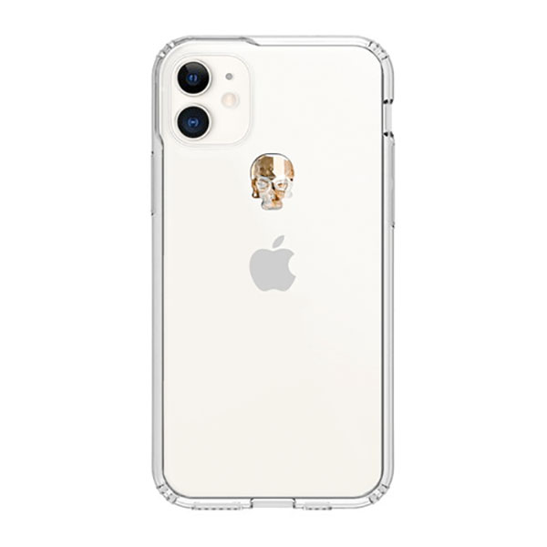 Bling My Thing iPhone 11 TREASURE 2019 ゴールドスカル×クリア
