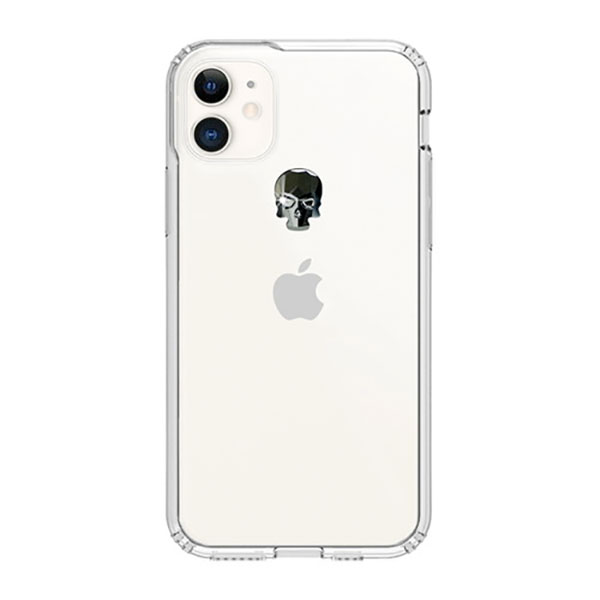 Bling My Thing iPhone 11 TREASURE 2019 ヘマタイトスカル×クリア