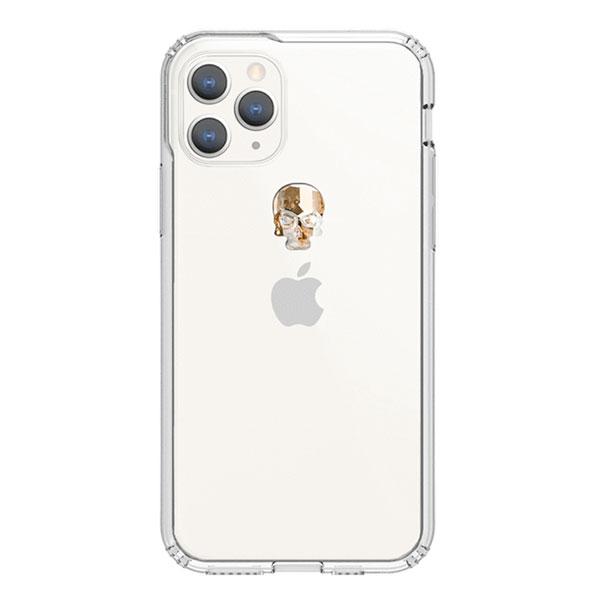 Bling My Thing iPhone 11 Pro TREASURE 2019 ゴールドスカル×クリア