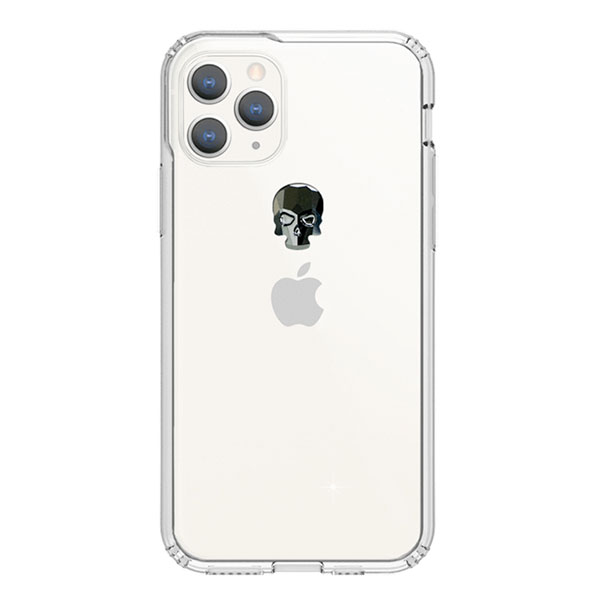Bling My Thing iPhone 11 Pro TREASURE 2019 ヘマタイトスカル×クリア