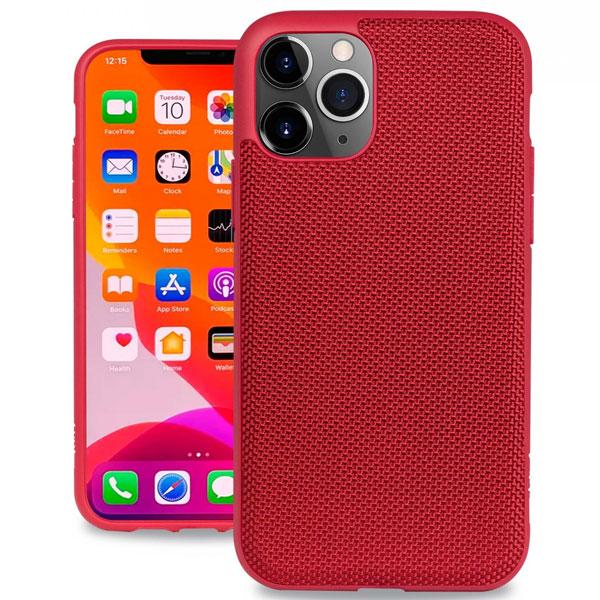 Evutec iPhone 11 Pro Ballistic Nylon Case with AFIX+ Mount Red