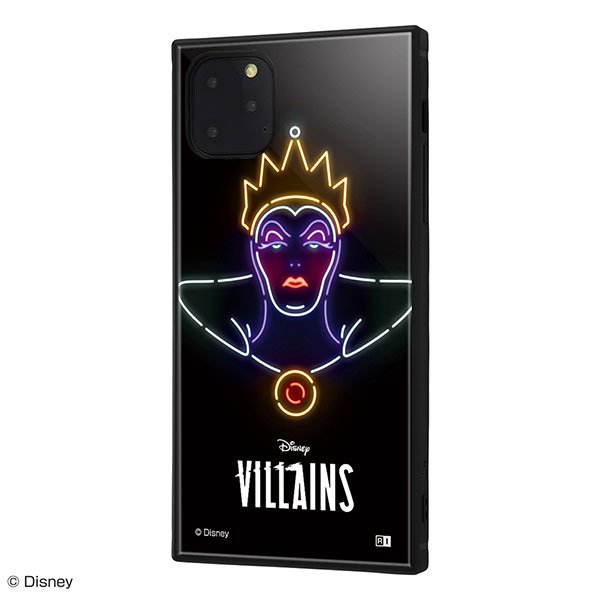 ingrem iPhone 11 Pro Max ディズニーヴィラン ネオンサイン 耐衝撃ハイブリッドケース KAKU 女王