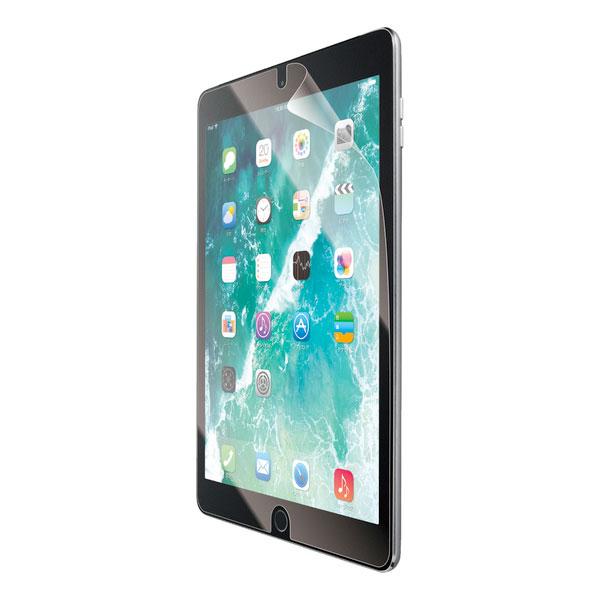 エレコム iPad 7th 保護フィルム フルスペック ブルーライトカット 衝撃吸収 硬度9H 高光沢