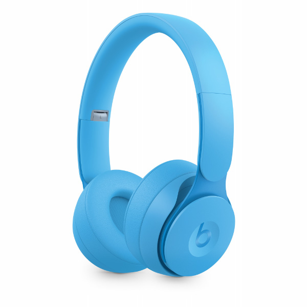 beats by dr.dre Solo Pro Wireless ノイズキャンセリングヘッドフォン - More Matte Collection - ライトブルー