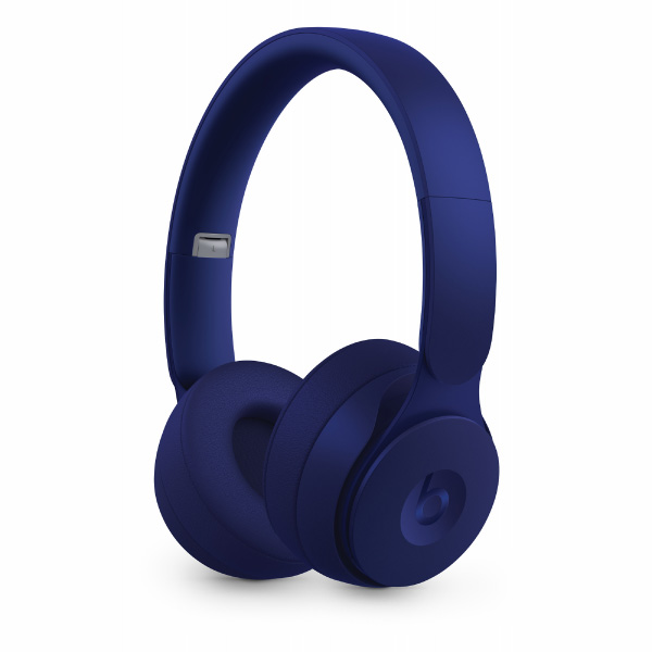 beats by dr.dre Solo Pro Wireless ノイズキャンセリングヘッドフォン - More Matte Collection - ダークブルー
