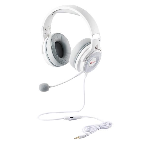 エレコム ゲーミングヘッドセット HS-G60 オーバーヘッド ホワイト