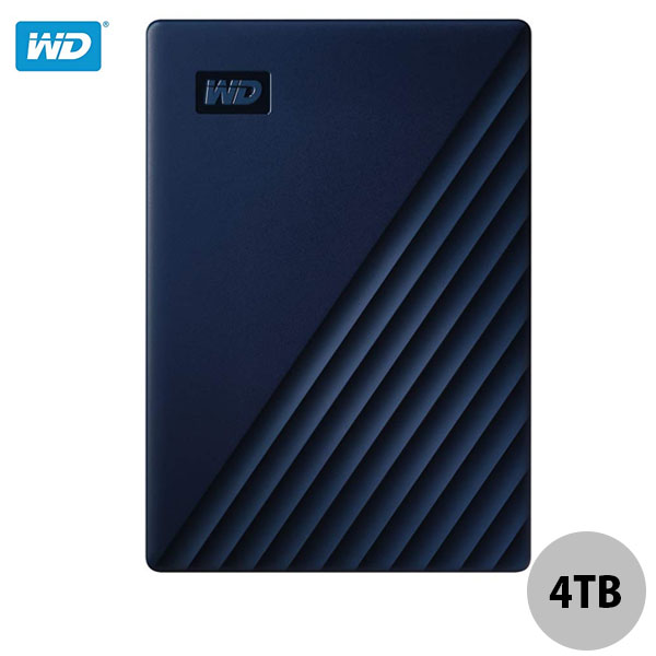 Western Digital 4TB My Passport for Mac USB 3.0 ポータブルHDD