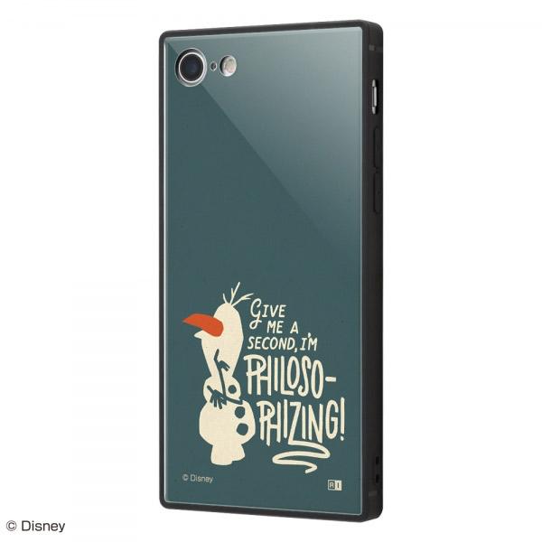 ingrem iPhone SE 第2世代 / 8 / 7 ディズニーキャラクター 耐衝撃ケース KAKU トリプルハイブリッド アナと雪の女王2 オラフ_01